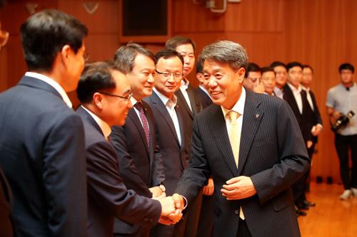 대우건설 박창민 신임사장 취임식 4.JPG