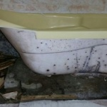 부영아파트 곰팡이 범벅 욕조, 숨겨진 폐기물 탓?