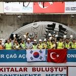 SK건설 유럽-아시아 잇는 터키 해저터널 관통 성공