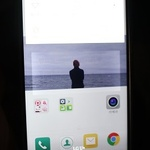 G5 이전 화면 잔상 비쳐 '불편'