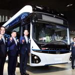 [현장스케치] 현대차, 상용차 종합 박람회 개최…전기버스 일렉시티 최초 공개