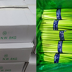 잔류농약 초과 검출 중국산 '마늘쫑' 회수 조치