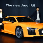 아우디, 'R8 V10 플러스 쿠페' 출시로 국내시장 판매 재시동