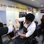 동아제약, 어르신 염색 봉사활동 '비겐어게인 캠페인' 실시