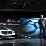 """[현장스케치] 벤츠코리아 """"AMG 고객 서비스 강화할 것...세계 첫 전용 트랙도 마련"""""""