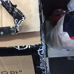 [오마이소비자] 홈쇼핑서 구매한 여행가방, 쓰레기 수준 포장으로 배송