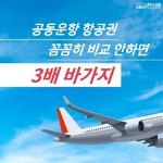 [카드뉴스] 공동운항 항공권 꼼꼼히 비교 안하면 3배 바가지