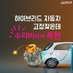 [카드뉴스] 하이브리드 자동차 고장 잦은데 수리비마저 폭탄