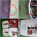 경동택배로 보낸 휠과 타이어 파손됐지만 보상 질질...수리비 두고 분쟁