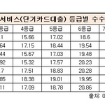 단기카드대출 금리 평균 20% 안팎...롯데카드 18.6%로 '최저'