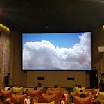 [현장스케치] CGV '씨네&포레' 가보니...숲을 옮겨온 영화관