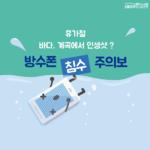 [카드뉴스] 휴가철 바다, 계곡에서 인생샷?...방수폰 침수 주의보