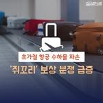 [카드뉴스] 휴가철 항공 수하물 파손 '쥐꼬리' 보상 분쟁 급증