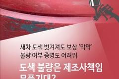 [카드뉴스] 자동차 도색 불량은 제조사 책임 아니다?...소비자만 분통