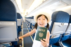 UM서비스로 아이 혼자 안전하게  비행기 태울 수 있어요
