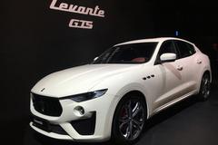 """[현장스케치] 마세라티 르반떼 GTS 출시...""""역사상 가장 강력한 V8 엔진"""""""