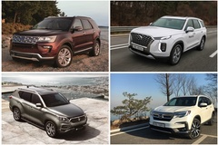 안전·편의사양 최첨단 기술로 승부수 던진 대형 SUV, 최강자는?