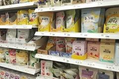 섭취 권장 연령 표기 사라진 아기용 과자...부모들 혼란