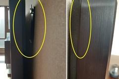 [노컷영상] 허술한 설치로 벽면에서 점점 떨어지는 벽걸이 TV