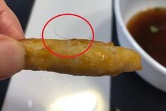 [노컷영상] 유명 브랜드 치킨 너켓에 박힌 긴 머리카락