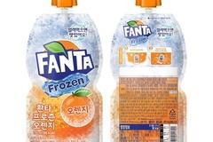 코카-콜라사 '환타 프로즌' 등 얼려 먹는 파우치 음료 선봬
