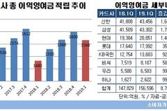 신용카드사, 순익 감소에도 이익잉여금 적립 늘려...하나카드, 증가율 '최고'