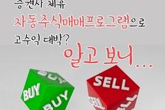 [카드뉴스] '증권사 제휴' 자동주식매매프로그램으로 고수익 대박? 알고 보니...