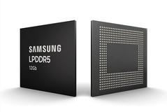 삼성전자, 역대 최고 속도 '12Gb LPDDR5 모바일D램' 양산...5G 스마트폰 시장 선점