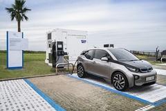 BMW코리아, 제주에 전기차 배터리 재사용 친환경 충전소 'e-고팡' 오픈