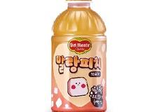 롯데칠성음료, '델몬트 말랑피치' 출시...상큼한 복숭아 과즙+더 커진 코코넛 젤리