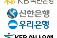 우리은행, 해외법인 순익 26% '껑충'...신한·국민·하나은행은 나란히 감소