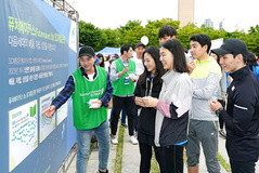 SC제일은행, 시각장애인 마라톤 대회서 가이드러너 봉사