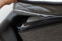 [노컷영상] 커버 벗기다 봉제 터져버린 매트리스, 불량 아니라고?