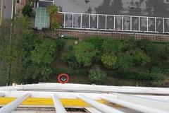[노컷영상] 태풍으로 아파트 19층서 추락한 에어컨 실외기