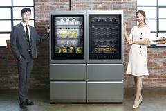 LG전자 시그니쳐 라인업 확대.. 와인셀러, 상냉장·하냉동 냉장고 출시
