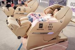 바디프랜드 파라오Ⅱ·팬텀Ⅱ 안마의자, BTS 콘서트 관람객 인기 독차지