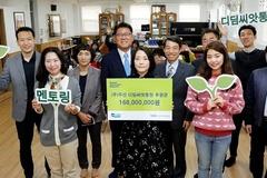 ㈜두산, 임직원 기부로 조성한 후원금 1억6800만원 한국사회복지협의회에 전달