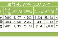 김정남·김용범·정문국 보험사 '장수 CEO 3인방' 연임 기상도는?